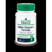 MSM + VITAMIN C FORMULA, 60 caps