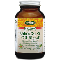 UDO'S 3-6-9 OIL BLEND 1000mg, 90 Caps