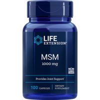 MSM 1000mg, 100 caps