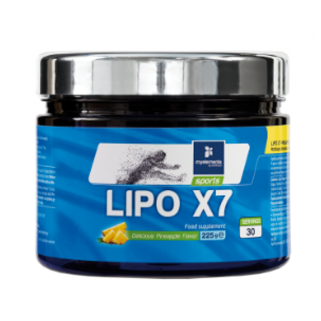 LIPO x7 Powder Pineapple Flavour, 300gr