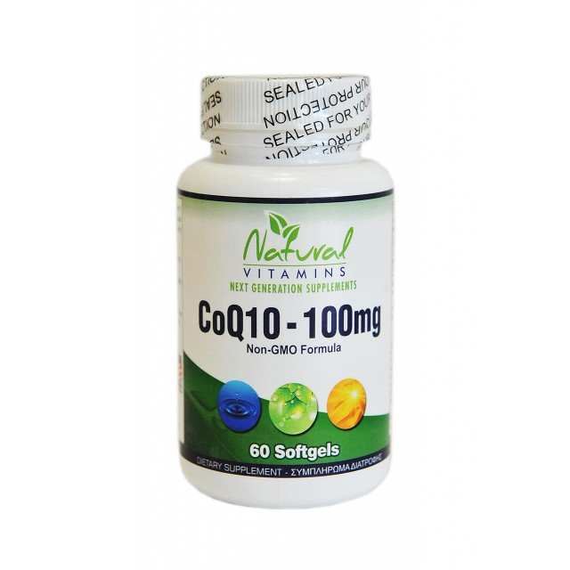 CoQ10 - 100mg, 60 Softgels