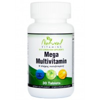 MEGA MULTIVITAMIN, 30 Tabs