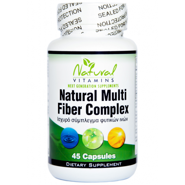 NATURAL MULTI FIBER COMPLEX. 45 Caps