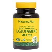 L-GLUTAMINE 500mg, 60 VCaps