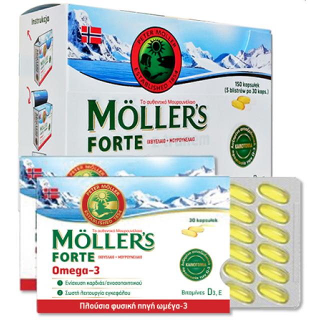 MOLLER'S - Moller's Forte Omega 3, 30 caps