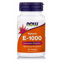 E-1000 IU with mixed Tocopherols, 50 Softgels