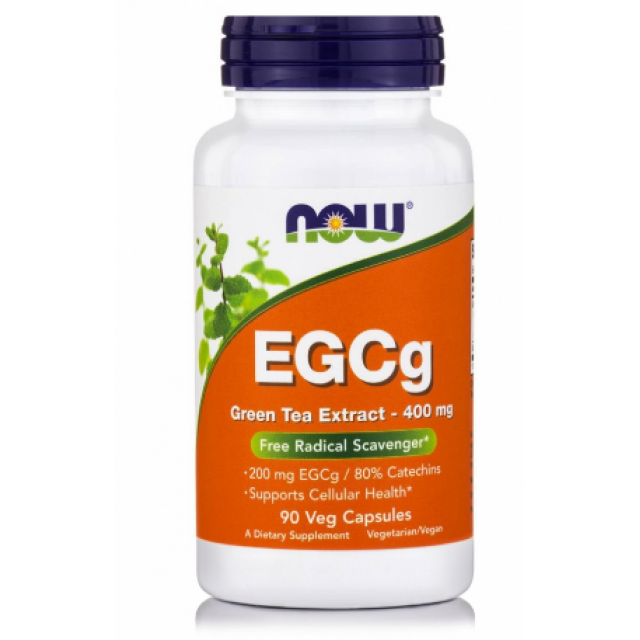EGCg Green Tea Extract 400mg (50% EGCg, 98% Polyphenols), 90Vcaps