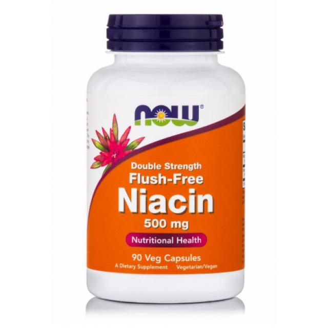 FLUSH FREE NIACIN 500mg, 90 Vcaps