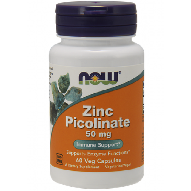 ZINC PICOLINATE 50mg, 60 Caps