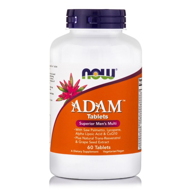 ADAM Superior Men's Multiple Vitamin, 60 Tabs