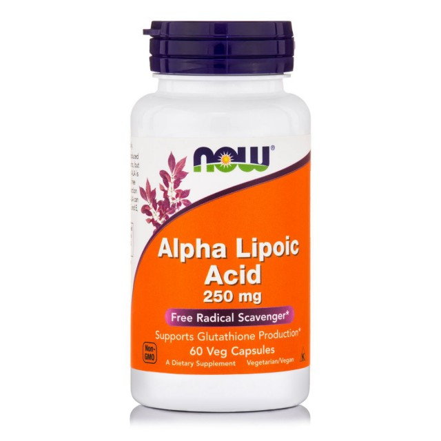 ALPHA LIPOIC ACID 250mg, 60Vcaps