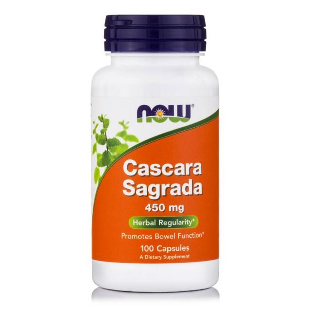 CASCARA SAGRADA 450mg, 100 Caps