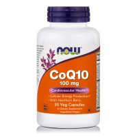 CoQ10 100mg with Hawthorn Berry Vegetarian, 30 Vcaps