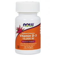 VITAMIN D3 10000 IU, 120 Softgels