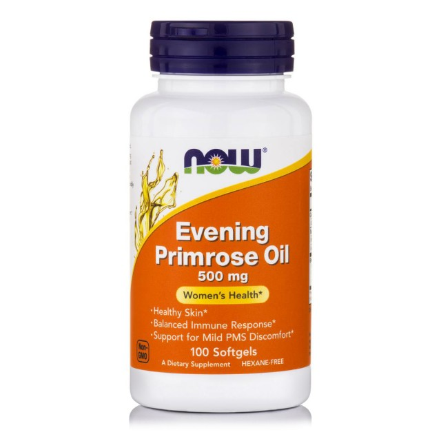 EVENING PRIMROSE OIL 500mg with GLA, 60 Softgels