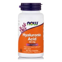 HYALURONIC ACID 50 mg with MSM 450 mg, 60 Vcaps