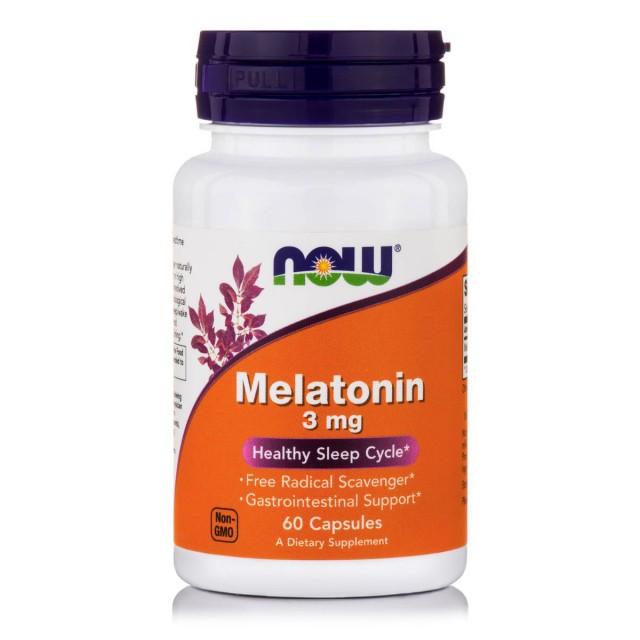 MELATONIN 3 mg, 60 Caps