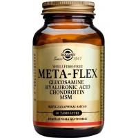 META FLEX (GLUCOSAMINE HYALURONIC ACID CHONDROITIN MSM), 60 Tabs