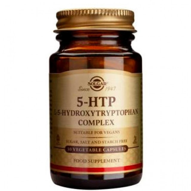 5-HTP (HYDROXYTRYPTOPHAN) 100mg, 30 Vcaps