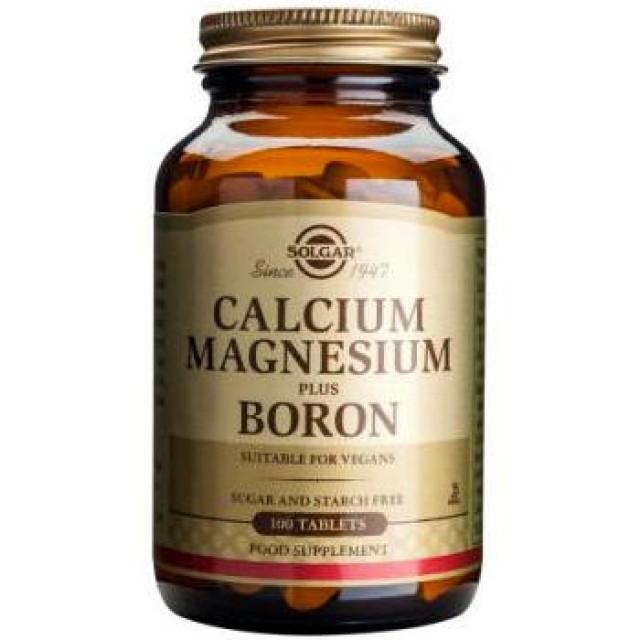 CALCIUM MAGNESIUM PLUS BORON, 100 Tabs