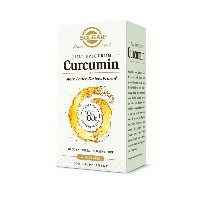 FULL SPECTRUM CURCUMIN, 30 Softgels