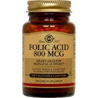 FOLIC ACID 800μg, 100 Tabs