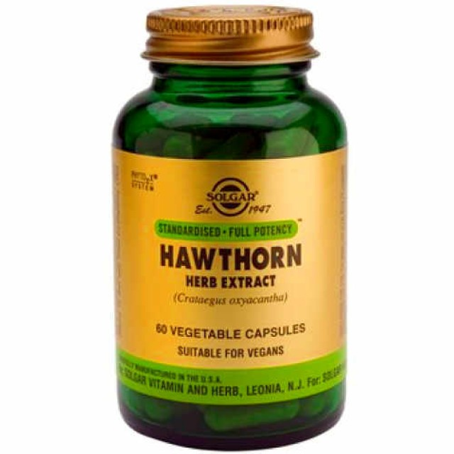 HAWTHORNE HERB EXTRACT, 60 Vcaps