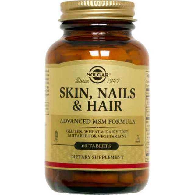 SKIN, NAILS AND HAIR FORMULA, 60 Tabs