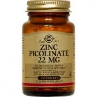 ZINC PICOLINATE 22mg, 100 Tabs